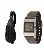 Strive Shoulder Pack_Cruise Dual Analog Watch_569161000