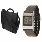 Wayfarer Messenger Bag_Cruise Dual Analog Watch_379241144