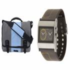 Push It Messenger Bag_Cruise Dual Analog Watch_1588082759
